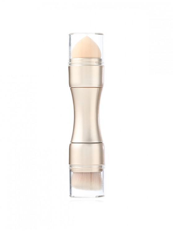 4in1 Fonksiyonlu Burun Göz Makyajı Fırçası - Şampanya Altın