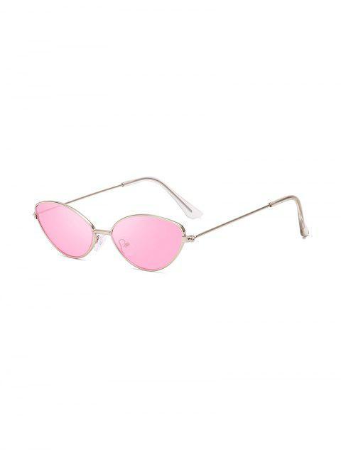 Защита от UV Китти глаз Металлические Солнцезащитные Очки - Свинья-розовый  Mobile