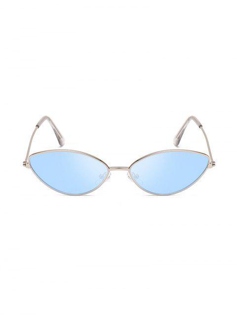 Lunettes de Soleil Anti-UV en Métal - Bleu de Mer  Mobile