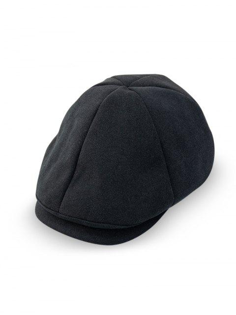 buy Peaked Casual Japanese Hat - BLACK  Mobile