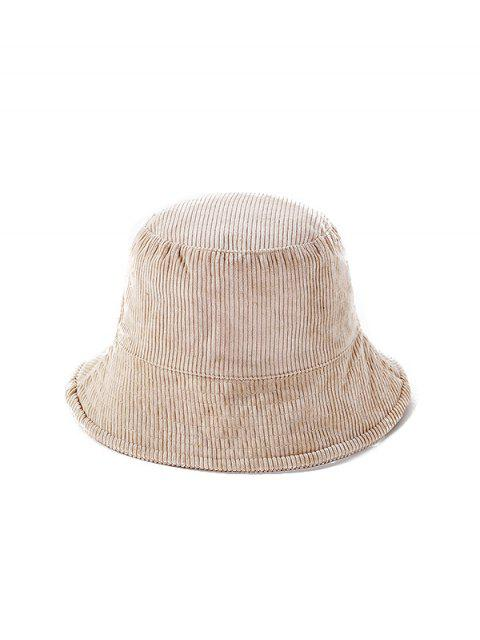 chic Jointed Plaid Floppy Bucket Hat - BEIGE  Mobile