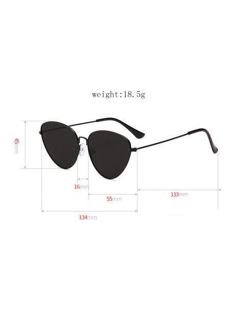 Óculos dePiloto Triangularde Metal ao Ar Livre - Ardósia Cinza  Mobile