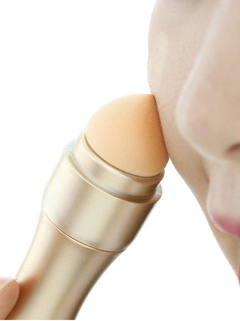 Pinceau de Maquillage œil Nez Multifonctionnel 4 en 1 - Champagne Or  Mobile