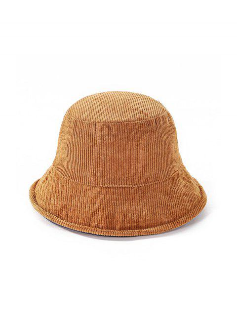 buy Jointed Plaid Floppy Bucket Hat - KHAKI  Mobile