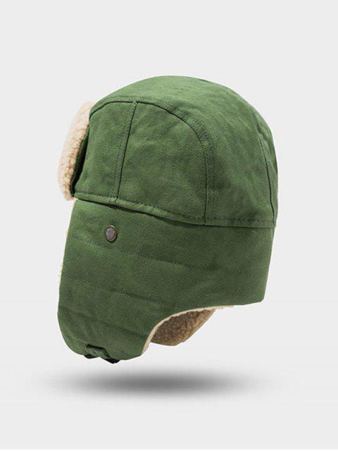 fancy Outdoor Fleece Ear Trapper Hat - PINE GREEN  Mobile