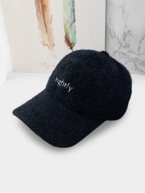online Character Peaked Hat - BLACK  Mobile