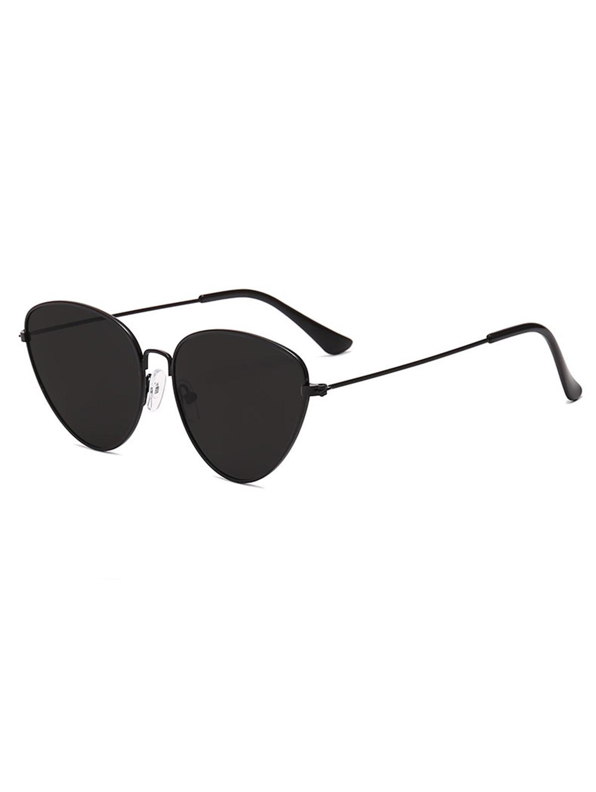 Zaful coupon: Outdoor Metal Triangular Pilot Sunglasses