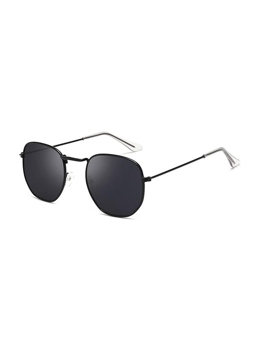 Metal Lightweight Square Sunglasses