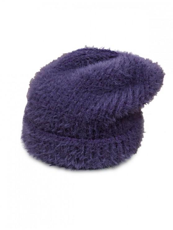 women's Winter Fuzzy Chic Soft Hat - PURPLE SAGE BUSH
