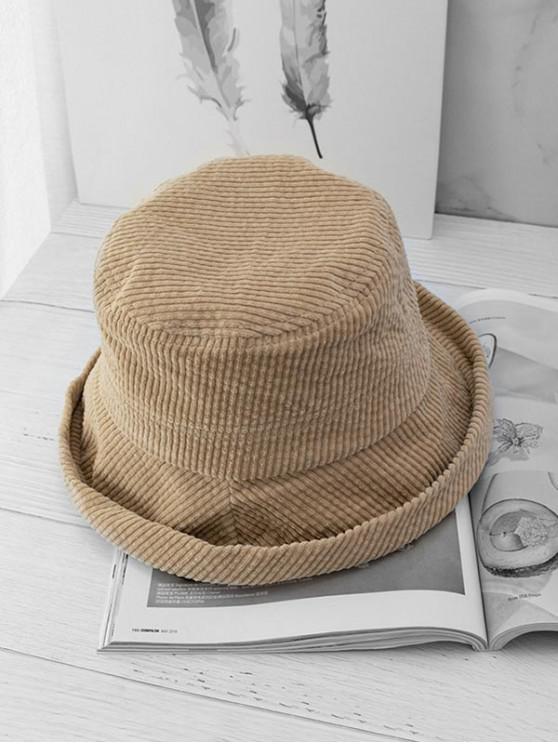 Японский стиль Складная Шляпа Вельвет - Верблюд-коричневый