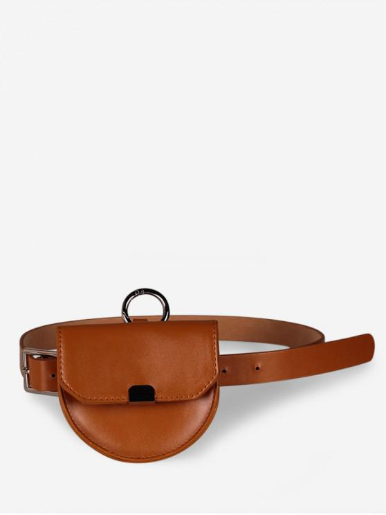 Semicírculo desmontable de doble uso cintura empaqueta - Naranja