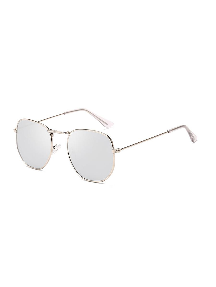 Metal Square UV Protection Sunglasses