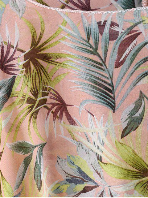 Cover Up de Flores con Flecos - Rosa L Mobile