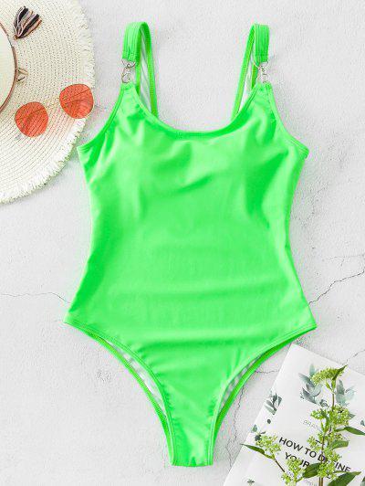 Basic Snap Hook One piece Swimsuit