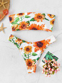 Sunflower Criss Cross Bikini Swimwear