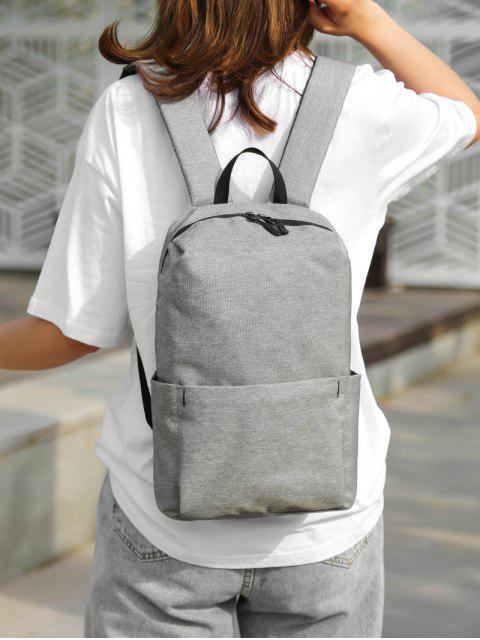 Для путешествия Легкий Нейлоновый Рюкзак - Серый металлик  Mobile