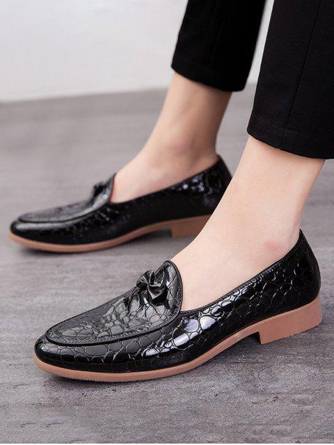 蝴蝶結的動物壓紋防滑工作鞋 - 黑色 歐盟45 Mobile
