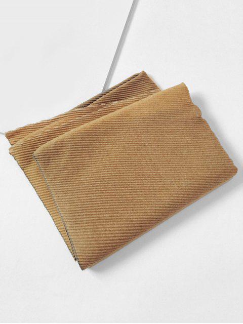 Gradient Streifen Crinkle langer Schal - Goldrute  Mobile