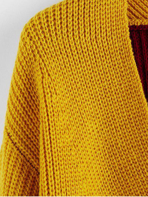 Jersey Twist de Bloqueo de Color - Multicolor-E L Mobile