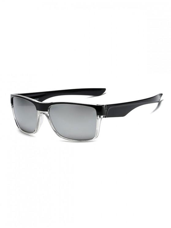 hot Rectangle Sports Outdoor Riding Sunglasses - SILVER