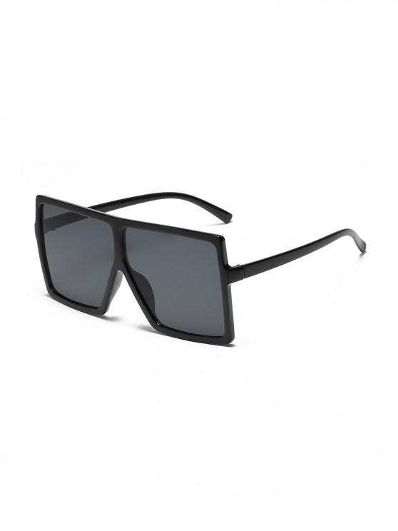 womens Oversized Gradient Square Sunglasses - BLACK