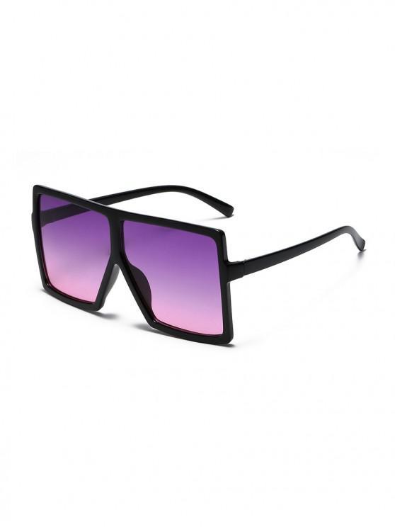 المتضخم التدرج ساحة النظارات الشمسية - Tyrian الأرجواني