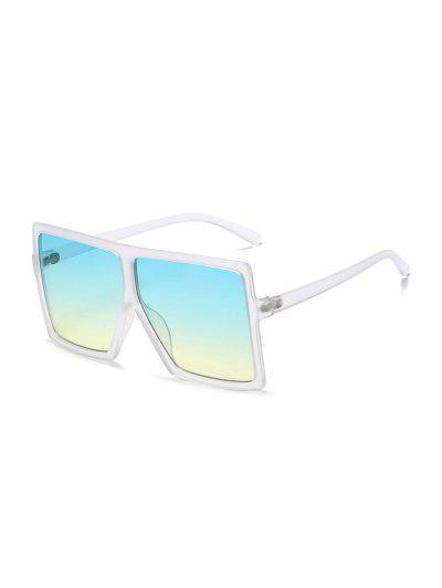 Óculos De Sol De Tamanho Extra Grande - Branco