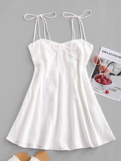 Bowknot Tie Straps Dress