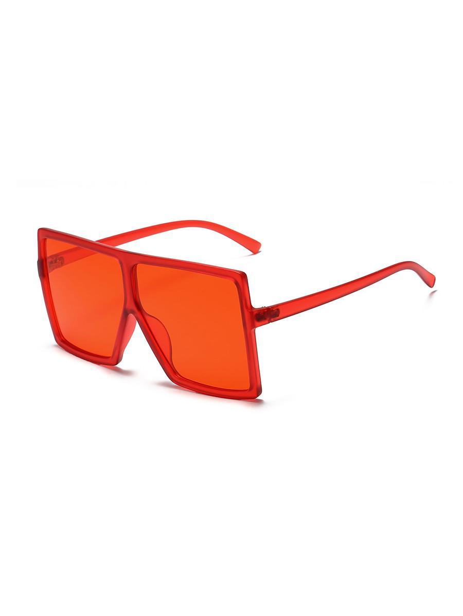 Oversized Gradient Square Sunglasses
