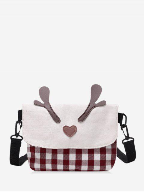 KaromusterWeihnachtenElchHornUmhängetasche - Schamotte  Mobile