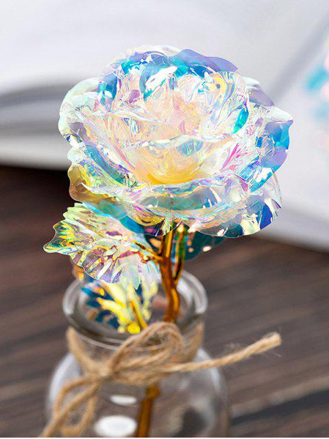 lady Colorful Plated Artificial Rose Flower In A Box - MULTI-A  Mobile