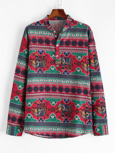 Henley Long Sleeve Shirt - from $21.49