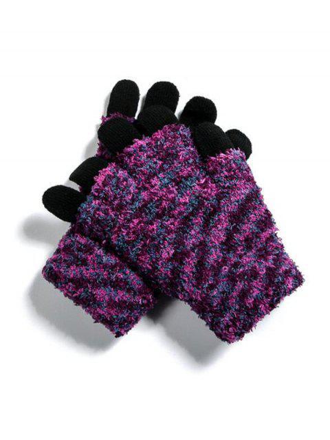 Наружные Вязаная Перчатки - Чёрный  Mobile