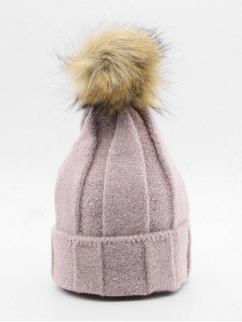 Winter Charakter Elastic Pudelmütze - Helles Rosa  Mobile