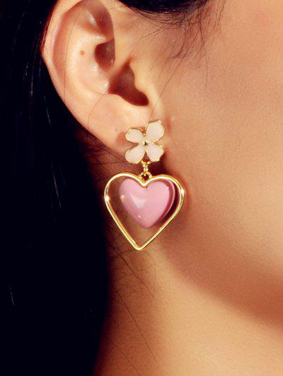 Heart Enamel Drop Earrings - from $4.00