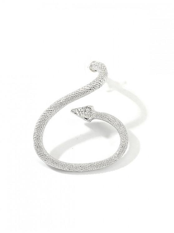 outfits Punk Snake Shape Ear Cuff - SILVER