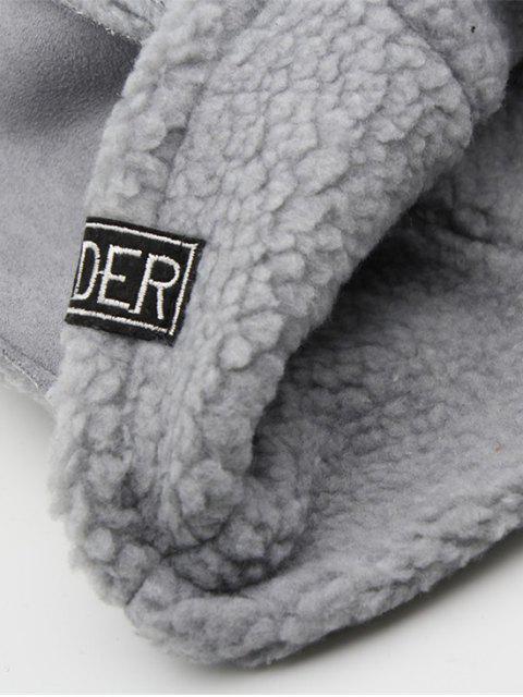 Winter Fest Fleece Fischerhut - Dunkelgrau  Mobile