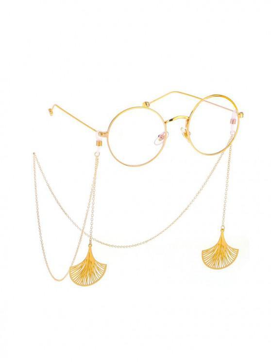جوفاء الجنكة نبات قلادة نظارات الحبل - ذهب
