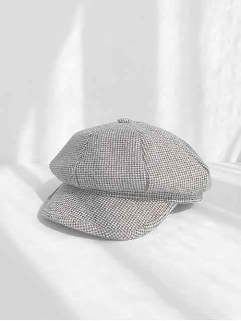 Chapeau de Béret Octogonal - Gris Foncé  Mobile