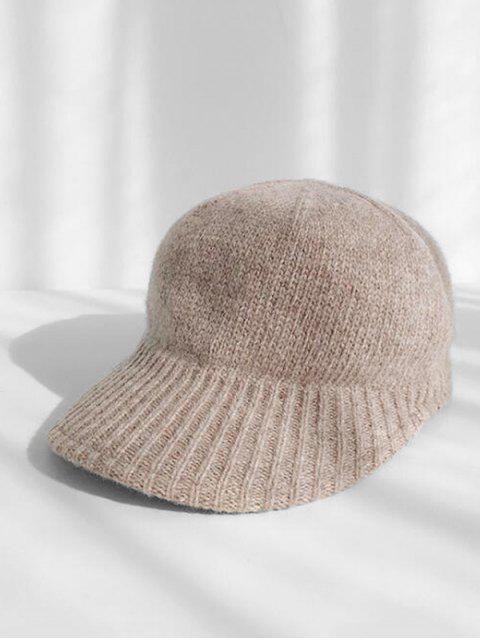 Chapeau d'Hiver Tricoté - Kaki  Mobile