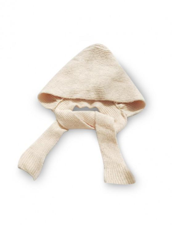 shop Winter Casual Hat Scarf Set - BEIGE