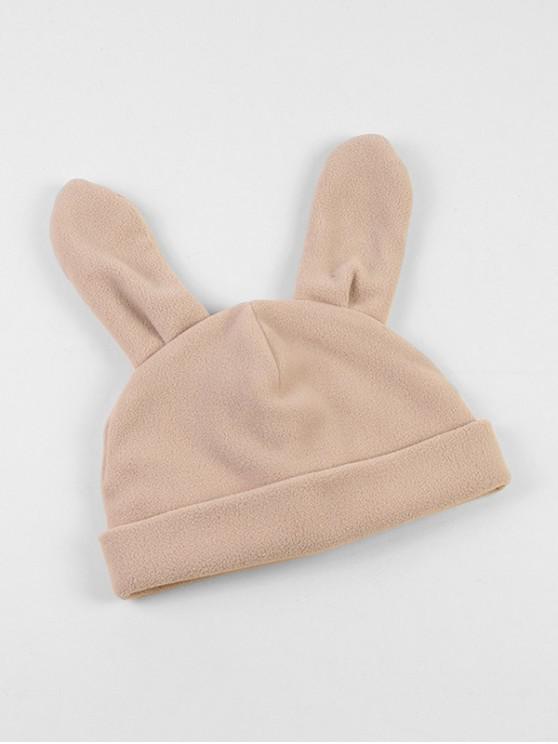 best Winter Rabbit Ears Knitted Hat - BEIGE