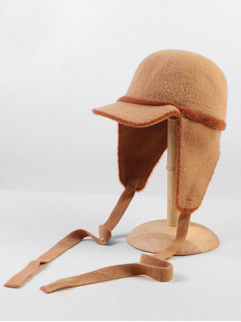 ЛентаШерстьШляпа С наушниками - Хаки  Mobile