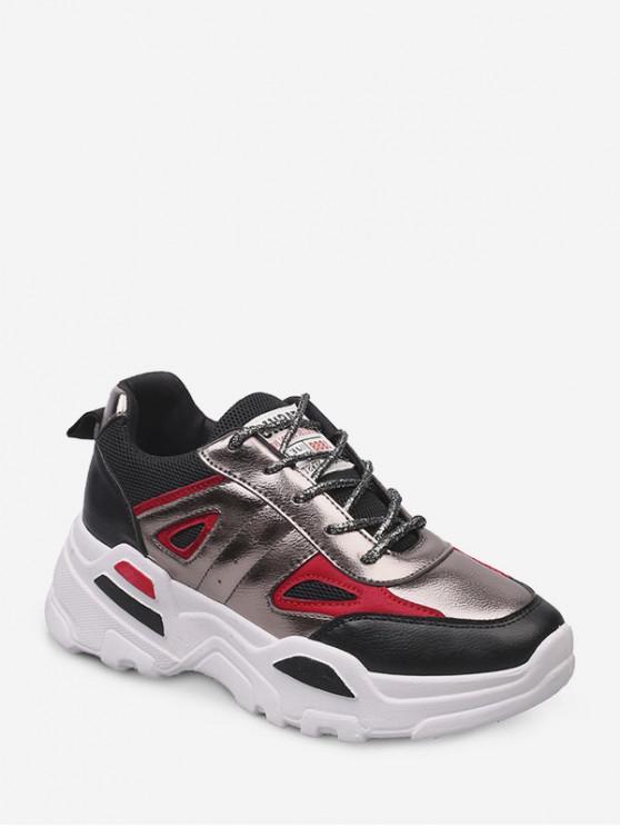معدنية لوحة أعلى منخفض في الهواء الطلق أبي حذاء رياضة - أسود الاتحاد الأوروبي 42