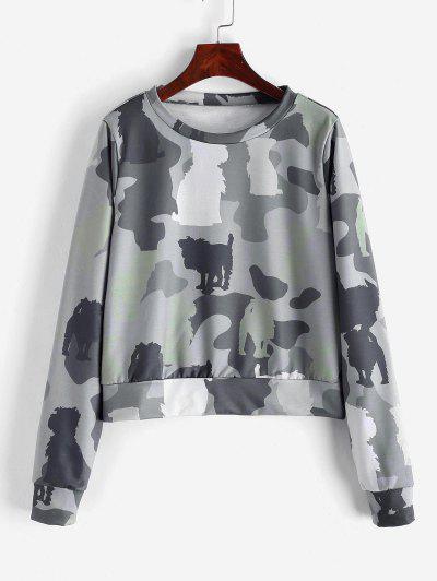 ZAFUL Sweat-shirt Camouflage - Acu Camouflage S