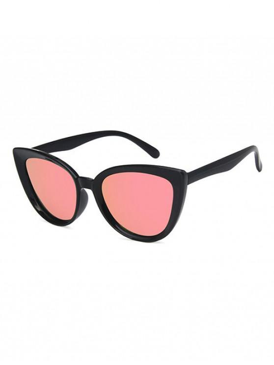Gafas de Sol Retro Al Aire Libre Ojo de Cerradura - Rosa Claro