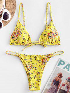 ZAFUL Bikini Badebekleidung Mit Ditsydruck - Multi-b S