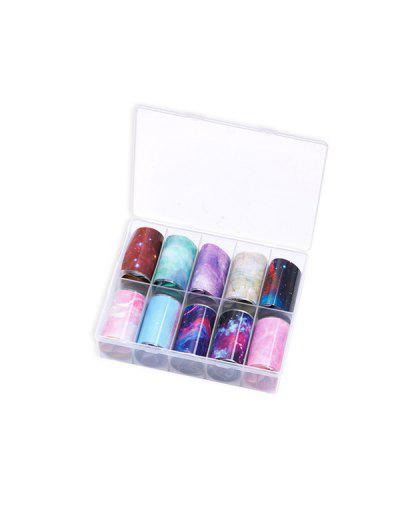 Colorful Print Nail Stickers