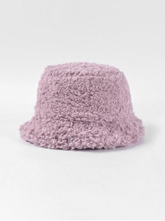 الصلبة الشتاء امبسوول قبعة دلو - أرجواني