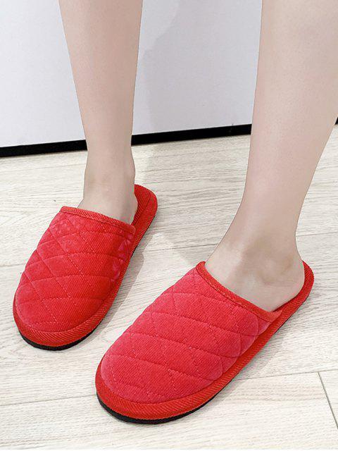 Обычная Стеганая Обувь С закрытым носком - Арбуз-розовый ЕС 35 Mobile